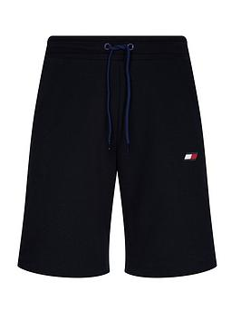 Tommy Hilfiger Tommy Hilfiger Knit Fleece Shorts - Navy Picture