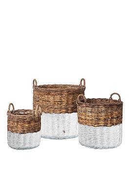 Gallery Gallery Ramon Set Of 3 Storage Baskets Picture
