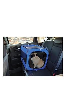 Streetwize Accessories   Collapsible Pet Car Kennel