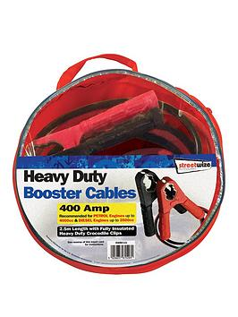 Streetwize Accessories Streetwize Accessories 2.5M Hd 500Amp Booster Cable  ... Picture