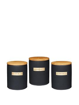 Masterclass Masterclass Masterclass Stoneware And Brass Effect Tea,  ... Picture