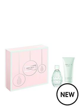jimmy-choo-jimmy-choo-floral-60ml-eau-de-toilette-100ml-body-lotion-gift-set
