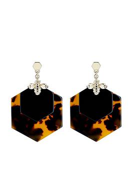ted-baker-honzza-bumblebee-honeycomb-earrings-light-gold