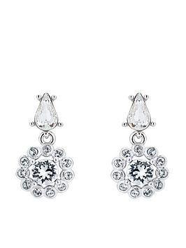 Ted Baker Ted Baker Lranha Daisy Crystal Daisy Drop Earring - Silver Picture