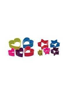colourworks-set-of-5-heart-cookie-cutters-and-set-of-5-star-shaped-cookie-cutters