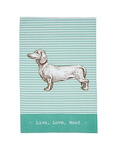 kitchencraft-dachshund-tea-towels-ndash-set-of-2