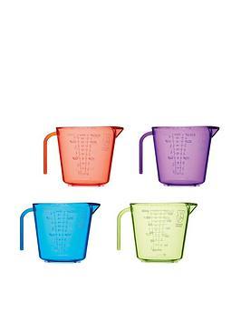 Colourworks Colourworks Brights Measuring Jugs &Ndash; Set Of 4 Picture