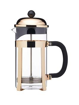 Le'Xpress Le'Xpress Brass Finish Stainless Steel 8-Cup French  ... Picture