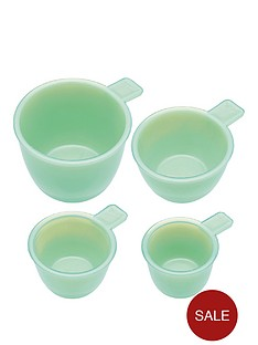 kitchencraft-set-of-4nbspmilk-glass-measuring-cups