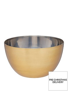 masterclass-stainless-steel-brass-finish-21-cm-mixing-bowl