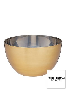 masterclass-stainless-steel-brass-finish-24-cm-mixing-bowl
