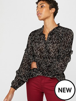 monsoon-harmony-heart-print-blouse