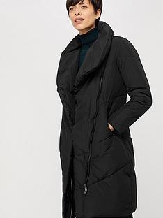 monsoon-dhalia-long-duvet-coat-black