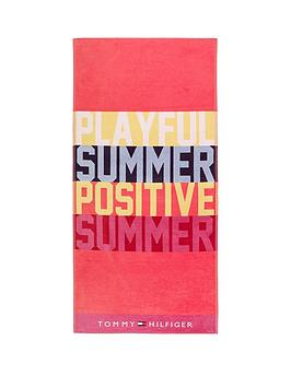 Tommy Hilfiger  Playful Beach Towel
