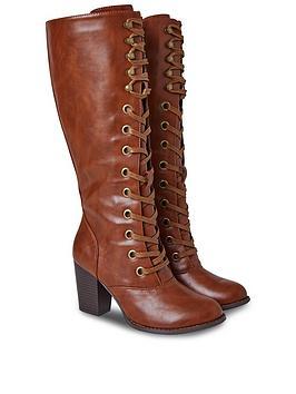 joe-browns-this-seasons-tall-lace-up-boots-tan
