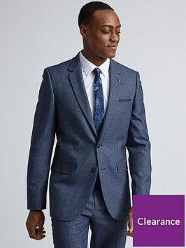 burton-menswear-london-burton-textured-slim-suit-jacket-blue