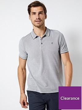 burton-menswear-london-burton-tipped-pique-polo-shirt-grey