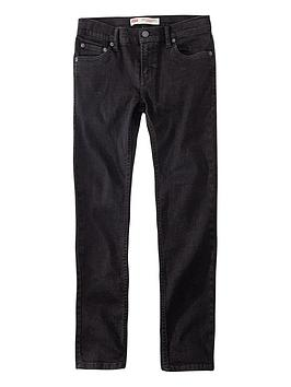 Levi's Levi'S Boys 519 Extreme Skinny Jeans - Black Picture