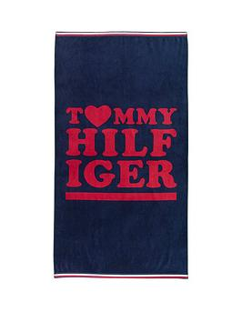 Tommy Hilfiger Love Beach Towel