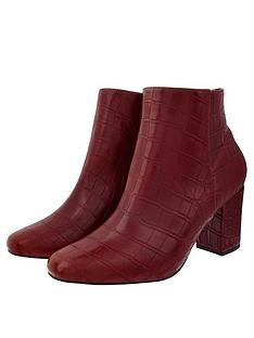 monsoon-cindy-croc-ankle-boots-burgundy