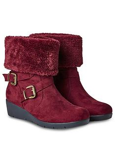 joe-browns-bramble-walk-faux-fur-boots-rednbsp
