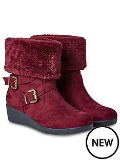 joe-browns-bramble-walk-faux-fur-boots-rednbsp