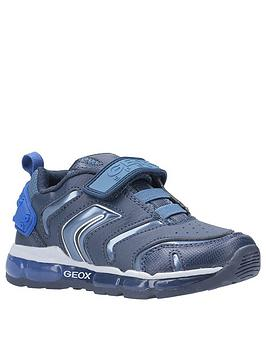 Geox Geox Android Strap Trainers - Navy Picture