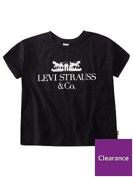levis-girls-short-sleeve-boxy-logo-t-shirt-black