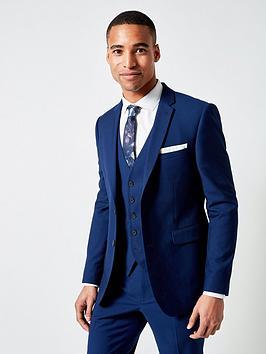Burton Menswear London Burton Menswear London Burton Plain Skinny Suit  ... Picture