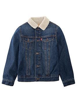 levis-boys-denim-sherpa-trucker-jacket-blue