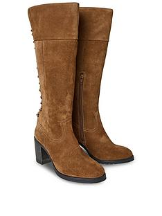 joe-browns-bella-suede-lace-back-boots-tan