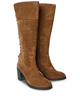 joe-browns-bella-suede-lace-back-boots-tan