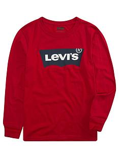 levis-boys-long-sleeve-batwing-t-shirt-red