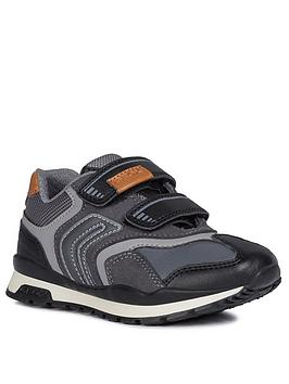 Geox Geox Pavel Strap Trainers - Grey Picture