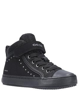 Geox Geox Kalispera High Top Trainers - Black Picture