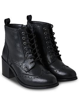 joe-browns-smart-and-smitten-leather-boots-blacknbsp