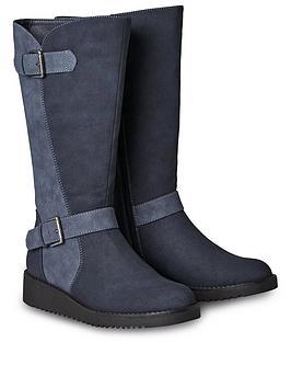 joe-browns-happiness-buckle-wedge-boots