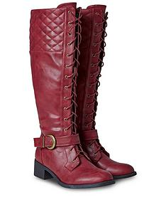 joe-browns-dream-rider-lace-up-boots-rednbsp