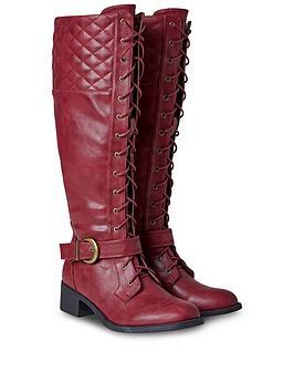 joe-browns-dream-rider-lace-up-boots-rednbsp