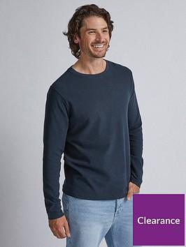 burton-menswear-london-burton-long-sleeve-waffle-t-shirt-navy