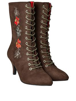 Joe Browns Joe Browns Joe Browns Bohemian Belle Embroidered Boots Picture