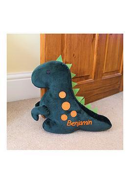 Very Personalised Dinosaur Doorstop - Personalised Picture