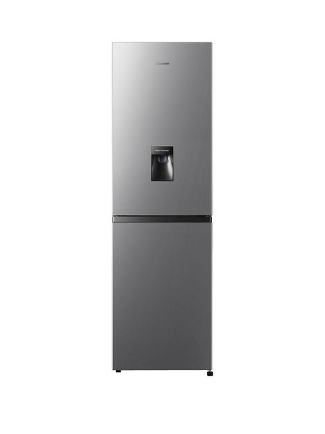 hisense-rb327n4wc1-55cm-wide-total-no-frost-fridge-freezer-silver