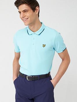 Lyle & Scott Golf Lyle & Scott Golf Andrew Polo Shirt - Marine Picture