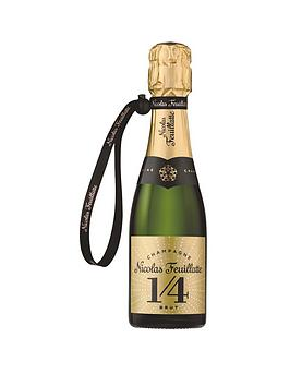 Very Champagne Nicolas Feuillatte One Fo(U)R Brut Quarter Bottles (20Cl) Picture