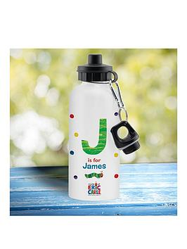 Very Personalised Hungry Caterpillar Water Bottle Picture