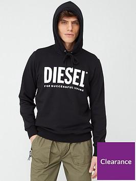 diesel-large-logo-hoodie-black