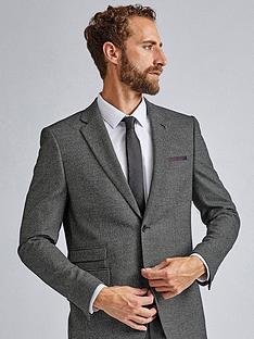 burton-menswear-london-burton-large-birdseye-skinny-suit-jacket-grey