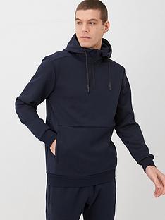 v-by-very-quarter-zip-hoodie-navy