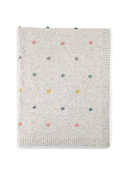 Mamas & Papas Mamas & Papas Dream Upon A Cloud Knitted Blanket Picture